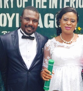 Juliet Weds her heart-throb James today 25th February 2015 at the Ikoyi Registry. A very Big congrats to the couple. More pics from the wedding....