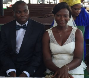 Daniel tied the knot with his sweetheart Regina today 10th February 2015. Happy married life to the couple.
