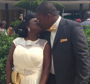 Bisayo and Lanre Ogundipe tied the knot today 11th February 2015 at the Ikoyi Registry. A very big congrats to them. More pics after the cut...