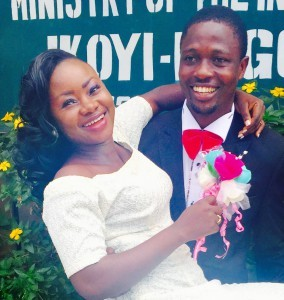 Bukky and Steven Oke Tie the Knot Today 12th March 2015.