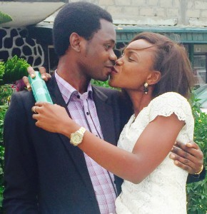 Olabisi weds Ayodeji Today 13th March 2015.May God bless their Union.