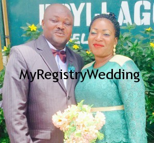 Muinatu wed Lateef Today 19th March at the Ikoyi Registry. A very Big Congrats to them.
