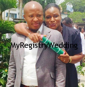 Chinonso Amuka legalize his Union with Chinelo today 19th March 2015. See more pics from the wedding....