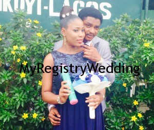 Busola and Femi Tie the Knot today 25th March 2015. Wishing them an unending circle of joy, love and happiness.