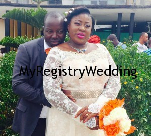 Omosola weds Oladele today 27th March 2015. A very Big congrats to the couple.