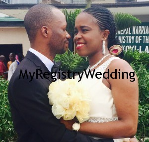 Chiazokam and Emenike legalize their union today 27th March 2015.Wishing them Happy Married Life.