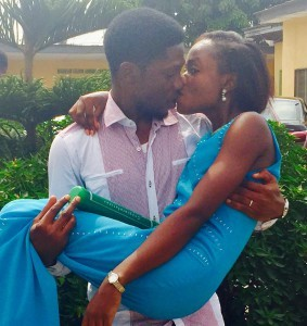 Funmi and Yinka Adepoju Tie The Knot Today 4th March 2015 At the Ikoyi Registry.
