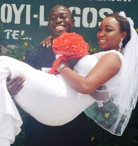 Tayo Akinsanya Married his Sweetheart Bunmi Today 4th March 2015. Happy Married life to them. See more pics from the wedding...