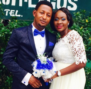 Rachael weds her heartthrob Emmanuel Uneh Today 6th March 2015.wishing them live and happiness in their special day.