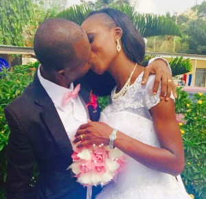 Temitope and Bamidele Ayilara get married Today 12th March 2015. Happy married life.
