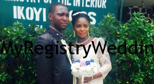 Titilayo get married to Folusho on the 23rd of April 2015