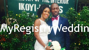 Tolani and Leke sealed their union on the 23rd of April 2015 at the Ikoyi Registry