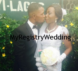 Sarah and Kenny get joined as husband and wife today 2nd April at the marriage registry.Happy married life