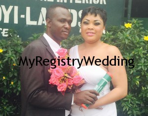 Bolanle and Kayode legalize their union on the 2nd of April 2015.Wishing you unending joy and happiness in your Union.