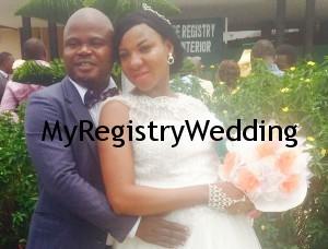 Elizabeth and Sola Obayiwo. Happy married Life.