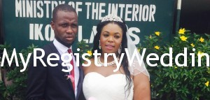 Shakira weds Adebayo on the 24th of April 2015. Happy Married life