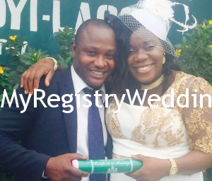 The happy couple tied the wedding knot on the 24th of April 2015
