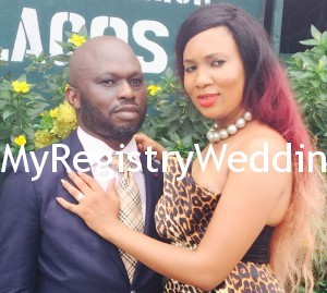 Omasan weds Mayomi at the Ikoyi Registry on the 30th of March 2015.Happy married life.