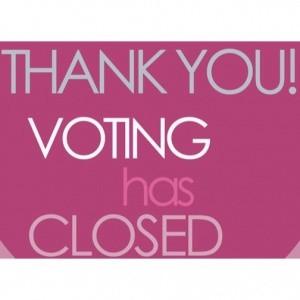 Voting closed