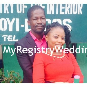 Onyinye and Ikenna legalize their union at the marriage registry, today 26th of June 2015. A very Big congrats to them.