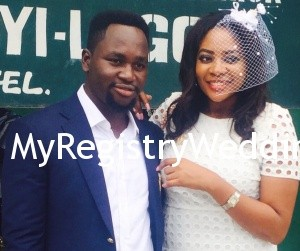 Somto happily tie the knot with Governor Anunobi today 26th June 2015. May they experience the Blessings of Marriage . See more pics after the cut...