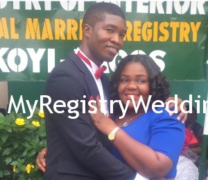 Yemi weds the love of her life Femi on the 17th September 2015 at the Ikoyi Registry. A very Big Congrats to them