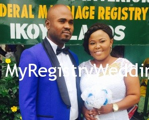 Sharon and Toba get joined as husband and wife on the 18th of September 2015. Happy married life.