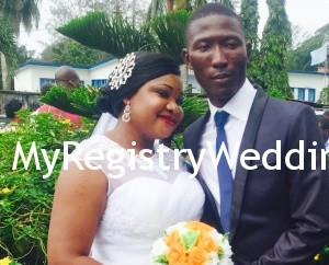 Yemisi wed Taofeek on the 30th of September 2015. See more pics from the wedding