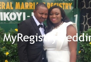 Salimatu legalize her union with her sweetheart on the 16th of October 2015. A very Big congrats to them. See more pics after the cut....