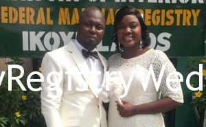 Omolara weds her sweetheart on the 11th of December 2015. Happy married life. See more pics after the cut...