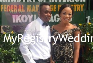 Abimbola and Abiodun take their marriage Vows on the 10th of December 2015. Happy Married life