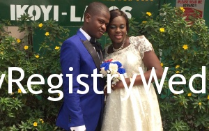 Olukemi and Olufemi legally seal their relationship on the 28th of January 2016