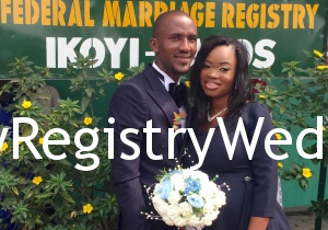 Bimbo and lekan Ayinla had their registry wedding on the 28th of January 2015. See more pics after the cut..