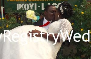 Dupe marries her sweetheart Akinyemi Oguntosi