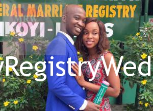 Yetunde and Tosin Ogunyemi had their Registry Wedding on the 15th of January 2016. Wishing you unending love and happiness in your union.