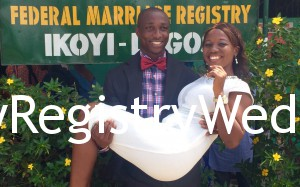 Evelyn get hitched to Patrick Ndabai on the 11th of March 2016. Happy married life