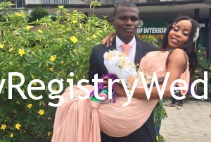 Idowu and Omotayo legalize their union on the 3rd of March 2016.