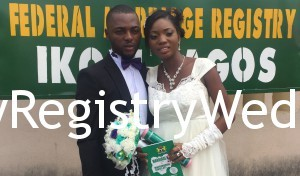Efe and Seun had their Registry Wedding today 3rd of March 2016.