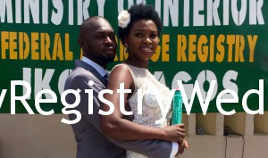 Like walk down the aisle with Tunji on the 17th of March 2016. Happy married life