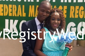 Aderonke marries her sweetie Oladapo on the 4th of March 2016.