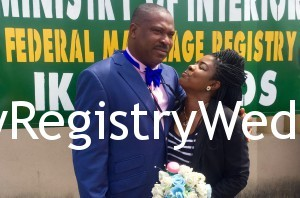 Kikelomo and Adebabaola Adeyemo had their Registry Wedding on the 4th of March 2016 . Wishing the couple everlasting joy and happiness in their union
