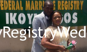 Bisoye weds her love Olumiya at Ikoyi Registry on the 5th of May 2016. See more pics after the cut...