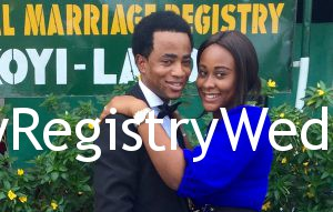 Blessing marries her sweetheart Rotimi Ayodele-Oba on the 19th of May 2016 at Ikoyi Registry. A very Big congrats to them