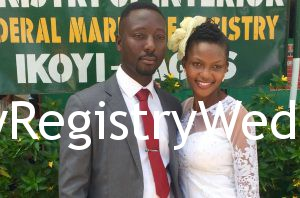 Abiola and Nathaniel had their RegistryWedding on the 19th of May 2016. Happy Married Life