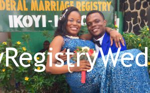 Fisayo and Tosin tie the knot on the 19th of May at Ikoyi Registry. We wish them a fruitful marriage.