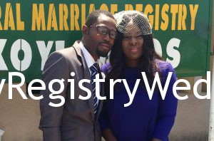 Oluwatomi and oladayo legalize their union on the 29th of April 2016 at the Marriage Registry. See more pics after the cut...