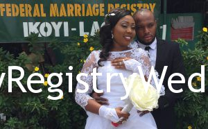 Abimbola Looks Gorgeous & Adorable As She Walk Down The Aisle