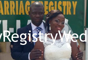 Kehinde tie the wedding knot with Gabriel Babalola on the 30th of June 2016 at Ikoyi Registry.