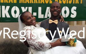 Olaoluwa marries her sweetheart Olajide Ososanya on the 14th of July 2016.