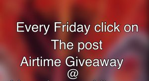 Airtime Giveaway From Us To You